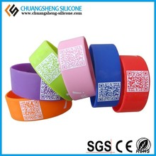 Environmental protection pure silicone bracelet for party/wedding/anniversary
