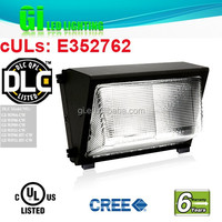 6 years warranty DLC UL cUL Wall Outdoor Led Gardens Lamp with Patents
