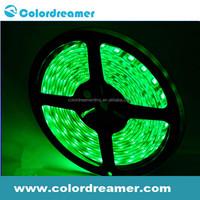 DMX control 5m RGB flexible LED strip,pvc cover IP65 color changable led flex strip 30leds/m
