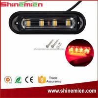 cheap surface mount strobe lights Surface Mounted Emergency 4 Led Mini Car Grille Strobe flashing led light