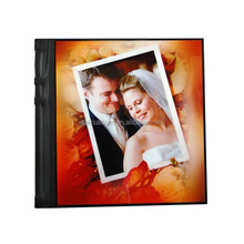 Unique 8x10 Acrylic cover photo album wedding album factory in China