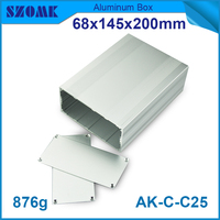 high quanlity seperated silver aluminum big case 68x145xfree(mm)