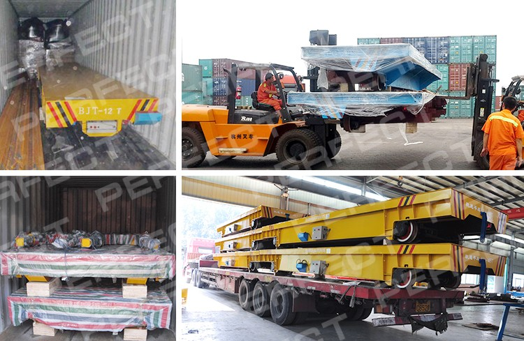 Trackless of trackless handling equipment