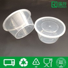 Eco-friendly disposable food grade lunch box plastic container 800ml