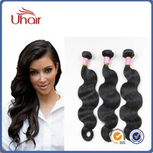 2015 7A Grade Virgin Brazilian Hair Body Wave Wholesale Price Unprocessed Naturl Color Can be Dyed Brazilian Hair Extension