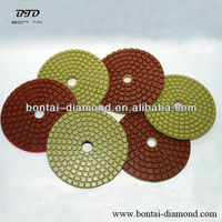 Abrasive pad for granite andmarble