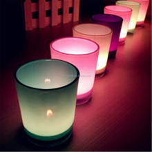 tealight candle holder champagne glass candle holder