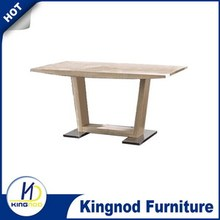 Wood Dining table / dining table / dining room furniture with oak paper