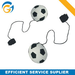 Promotional Mini Soccer Shaped Keychain Balls
