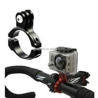 1pcs Aluminum Bike Bicycle Standard Handlebar Clamp Mount Adapter 31.8mm for GoPro Hero 1 2 3 3+ 4 & SJ Series Camera