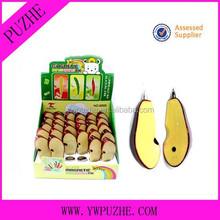 Promotional apple shape ballpoint pen/ fruit ballpoint pen