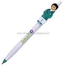 Promotional Plastic Cartoon Doctor Pen