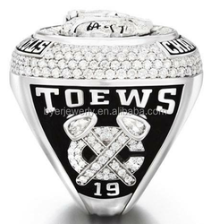 new published 2015 blackhawks stanley cup championship ring hockey ice