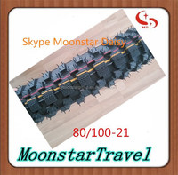 competition price motorcycle tire and tube 80/100-21 moto spare parts from china