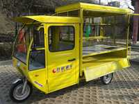 cheaper dining electric tricycle