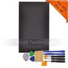Original lcd for HTC one M7 lcd display and touch screen digitizer with frame free shipping !!! silver color