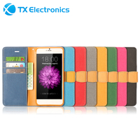 Cheap Wholesale custom wallet leather case for iphone 6