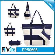 factory wholesale custom canvas fashion shopping tote bag