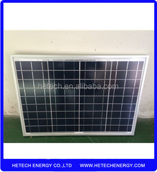 import solar panels from china pv supplier Poly 40w price per watt solar panels