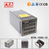 SCN-1500-15 ac dc 1500w 15v 100 amp power supply with Parallel function
