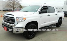 USED 2014 TOYOTA TUNDRA CREWMAX TSS PACKAGE EDITION 5.7L V8 4x2 / Export to Worldwide