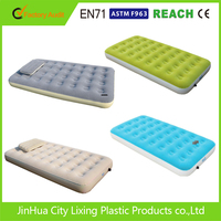 inflatable air mattress Flocked inflatable pvc queen size air and bed