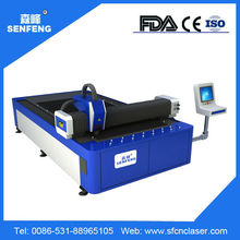 500W 1000W Fiber Hot Sale Metal Laser Cutting Machine