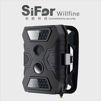 hidden security camera GSM support phone remote access battery operated for mine construction sites