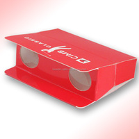 Promotion binoculars with folding paper cardboard at low price