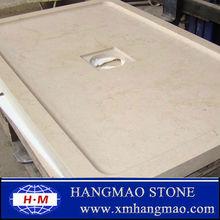de color blanco puro piedraartificial panel de la ducha