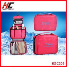2015 Direct Manufacturer Professional Fashion Travel Hanging Toiletries Cosmetic Bag organizer