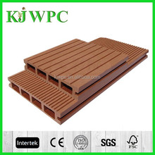 Hot sale wood plastic composite Decking Flooring hollow wpc decking