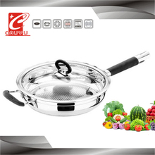 24cm cookware import stainless cookware pizza pan