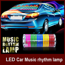 multi color led decorative light car accessory in China factory