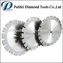 Concrete road cutting diamond blades circular saw