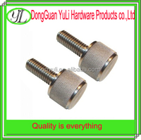 304 stainless steel g8.8 knurled bolt