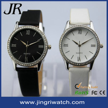 man and woman watch set lover watch in leather band 2015 New Arrival couple watch