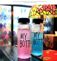 2016 fashion design plastic tritan orange lemon fruit juice infuser water bottles