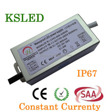 CE RoHS SAA Constant Current AC to DC led power switching IP67 12w 24w 36w 48w led power supplyled driver