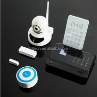 G90B wifi GSM alarm system,GSM+Wifi Wireless Burglar Alarm support IP Camera ,GSM Home Alarms home security