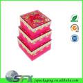 Decorativo del caramelo de chocolate nombres para chocolate embalaje caja de papel
