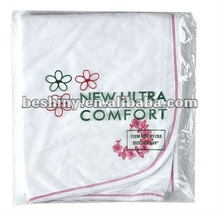 180gsm terry cloth material baby blanket 91253
