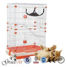 [Grace Pet] Large cage for Cats / Stainless Steel Wire Cat Cage
