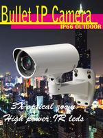 ANC-2260MB 2M 3X Vari-focal bullet outdoor IP security camera IP66