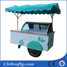 ice cream popsicle gelato mobile cart for sale