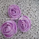 Venda quente de cristal flor rosa, flores de seda para a roupa