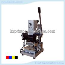 Hs-w90a ventas directas a los fabricantes que venden estampación en caliente de la máquina para tarjeta del pvc