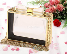 jachoo clear mini acrylic waterproof cosmetic bag