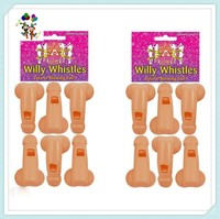 Hen Party Girls Night Do Blowing Plastic Fancy Fun Willy Whistles HPC-0919