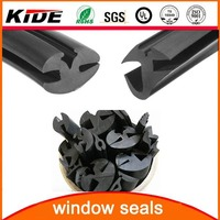 rubber window gasket/rubber glazing gaskets/extrusion auto glass rubber gaskets